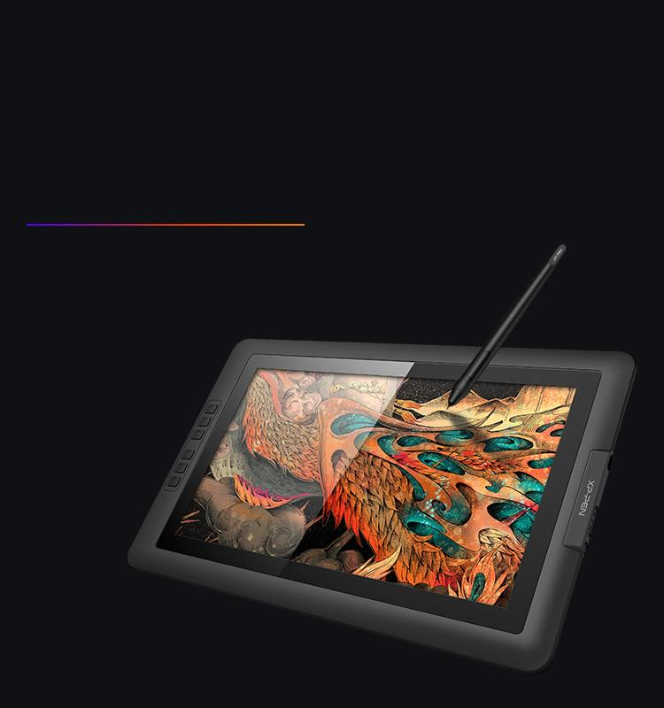 Artist 15.6 display tablet with High quality glass design